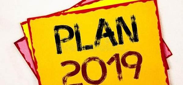 2019年个人行动清单
