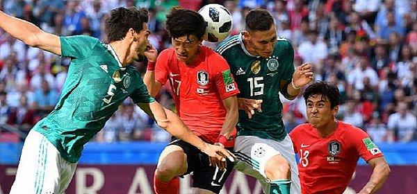 卫冕冠军德国0-2韩国爆冷出局 瑞典3-0墨西哥携手出线