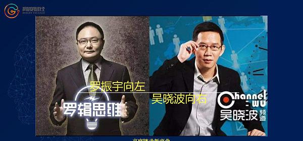 罗振宇向左,吴晓波向右 | 高度100人物